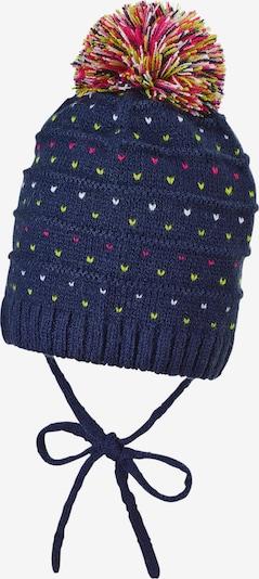 STERNTALER Mütze in marine / gelb / pitaya / weiß, Produktansicht
