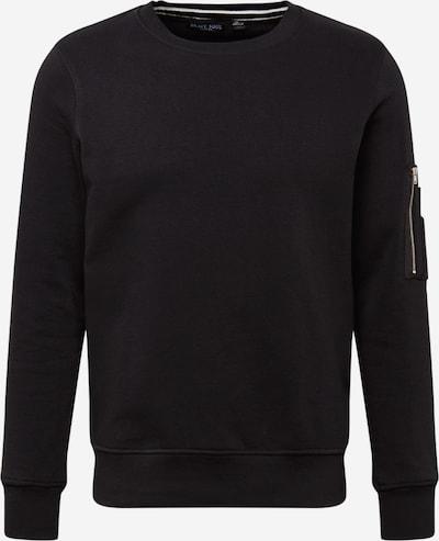 BRAVE SOUL Sweat-shirt en noir, Vue avec produit