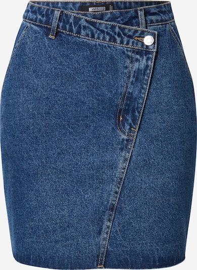 Missguided Jupe en bleu denim, Vue avec produit