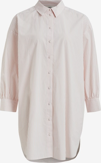 OBJECT Blouse 'Mahin' in de kleur Pink / Wit, Productweergave