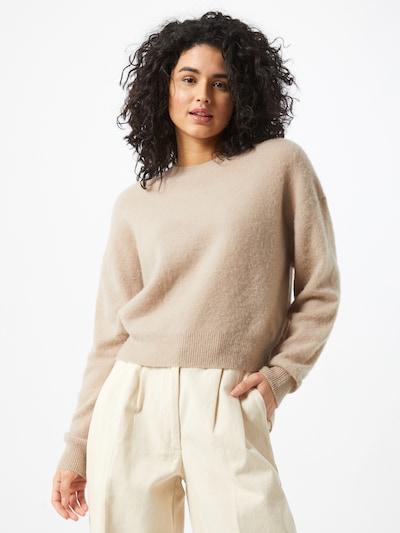 AMERICAN VINTAGE Pullover in beige: Frontalansicht
