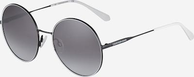 Akiniai nuo saulės 'J21212S' iš Calvin Klein Jeans, spalva – juoda / balta, Prekių apžvalga