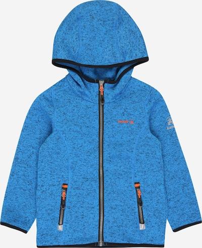 Jachetă  fleece funcțională 'Sawyer' Kamik pe albastru royal / gri / portocaliu / negru, Vizualizare produs