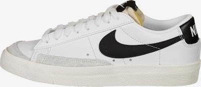 Nike Sportswear Sneaker 'Blazer Low 77' in grau / schwarz / weiß, Produktansicht