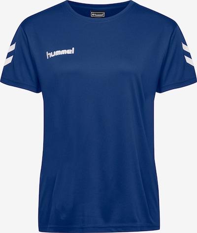 Hummel T-Shirt in blau / weiß: Frontalansicht