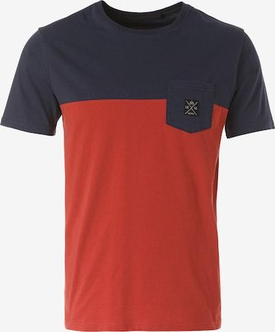 Lakeville Mountain T-Shirt 'Mukono' in blau / dunkelblau / rot, Produktansicht