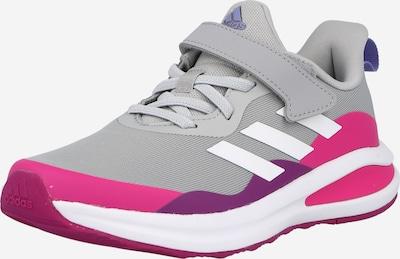ADIDAS PERFORMANCE Sportschuh 'FortaRun' in grau / dunkellila / pink / weiß, Produktansicht
