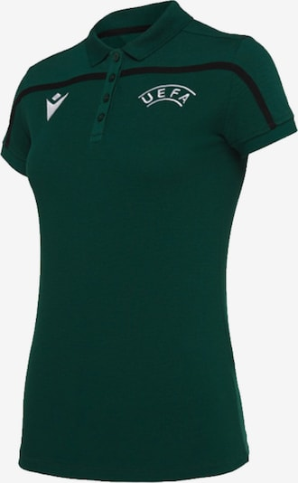 MACRON Poloshirt in grünmeliert, Produktansicht