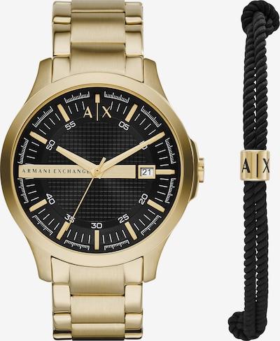 ARMANI EXCHANGE Set in gold / schwarz, Produktansicht