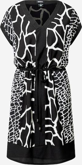 DKNY Obleka | črna / bela barva, Prikaz izdelka