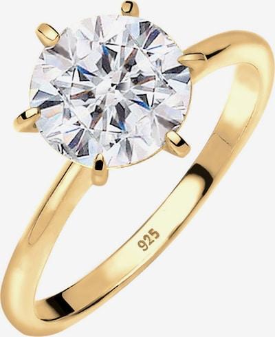 ELLI Ring 'Solitärring' in de kleur Goud, Productweergave