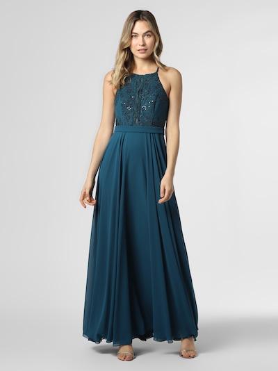 Marie Lund Abendkleid in blau, Modelansicht