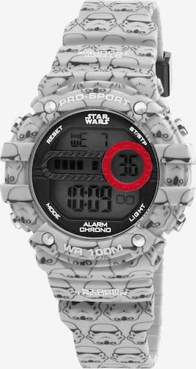 AM:PM Digitaluhr 'Star Wars electronic watch' in grau / schwarz, Produktansicht