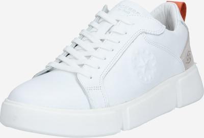 Dockers by Gerli Sneakers laag in de kleur Bruin / Wit, Productweergave