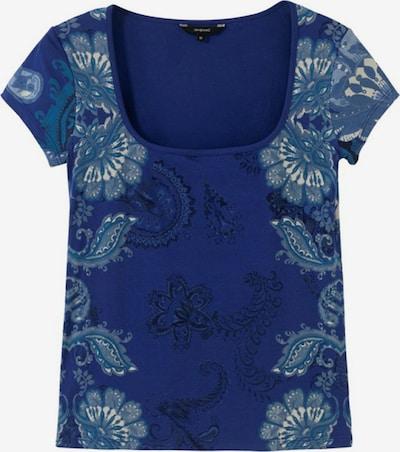 Desigual Shirt 'BRASILIA' in Beige / Navy / Sky blue / Black, Item view