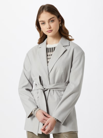 JUST FEMALE Blazer 'Chicago' en gris claro, Vista del modelo