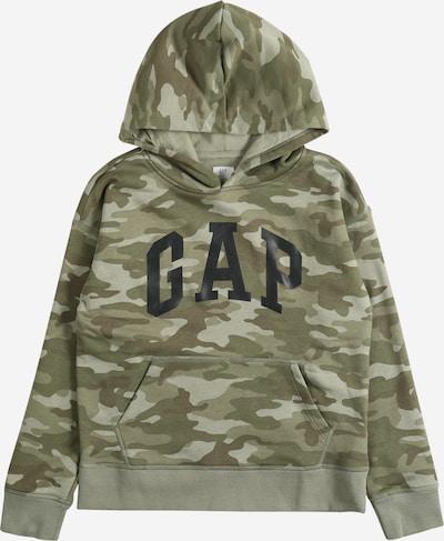 GAP Sweatshirt in khaki / oliv / schwarz, Produktansicht