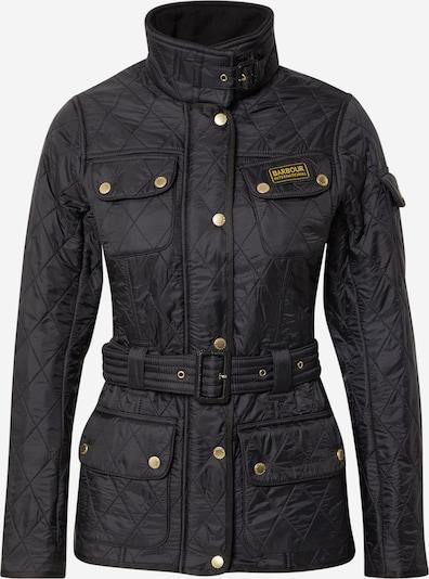 Barbour International Jacke in gelb / schwarz, Produktansicht