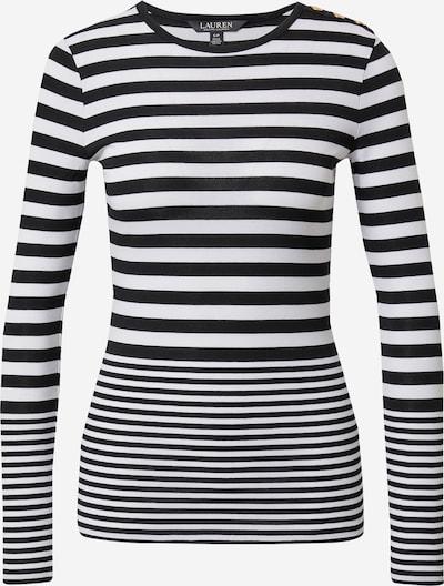Lauren Ralph Lauren Majica 'ELENA' u crna / bijela, Pregled proizvoda