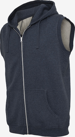 Urban Classics Bodywarmer in de kleur Smoky blue, Productweergave