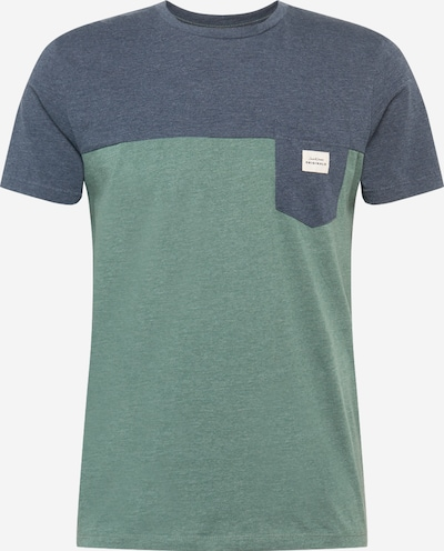 JACK & JONES T-Shirt in marine / grün, Produktansicht
