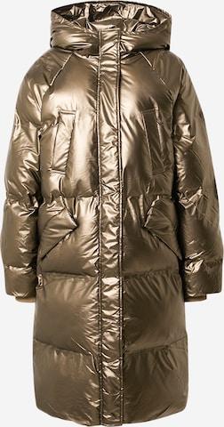 ICHI Kurtka zimowa w kolorze złoty