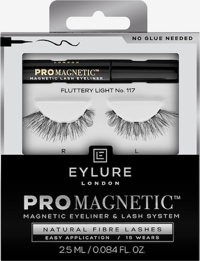 Eylure Artificial Eyelashes 'Natural Fibre' in Black, Item view