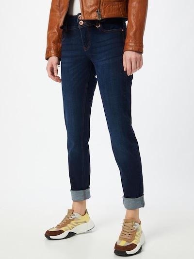 PULZ Jeans Jeans 'SUZY' in dunkelblau, Modelansicht