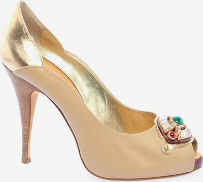 Gipsy High Heels in 38,5 in nude / gold, Produktansicht