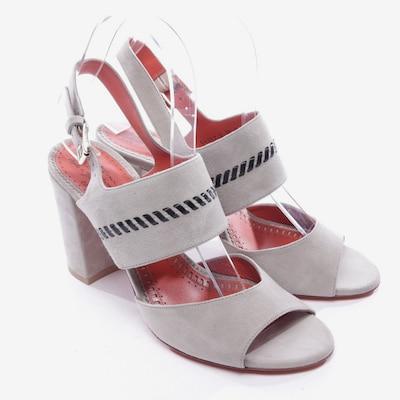 Santoni Sandaletten in 38 in grau, Produktansicht