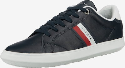 TOMMY HILFIGER Sneaker in navy / hellrot / weiß: Frontalansicht
