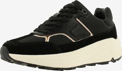 BJÖRN BORG Sneakers ' R1300 NYL MET ' in Black / White, Item view