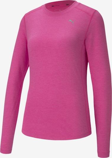 PUMA T-shirt fonctionnel en rose foncé, Vue avec produit