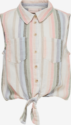 KIDS ONLY Blouse 'Lecey-Stacy' in Light blue / Light brown / Light grey / Pastel green / Light pink, Item view