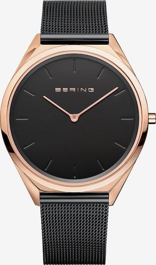 BERING Armbanduhr in rosegold / schwarz, Produktansicht