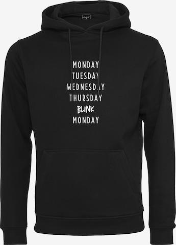 Merchcode Sweatshirt 'Blink ' in Zwart