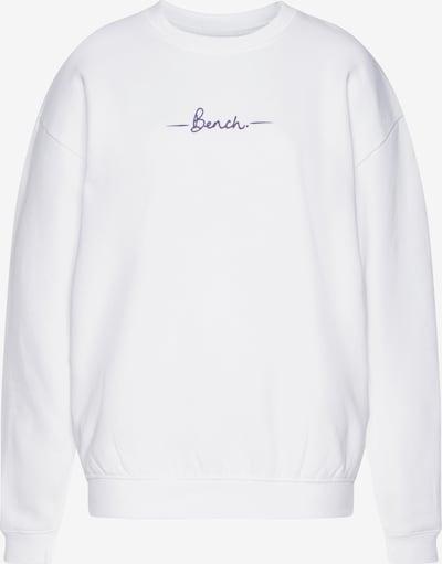 BENCH Sportsweatshirt in lila / weiß, Produktansicht