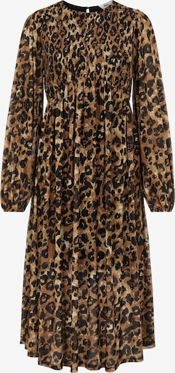 OBJECT Dress 'Siro' in Chamois / Light brown / Black, Item view