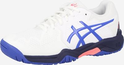 ASICS Sportschuh 'GEL-RESOLUTION 8' in blau / weiß, Produktansicht