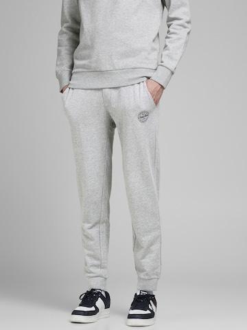 Pantalon 'Gordon' JACK & JONES en gris