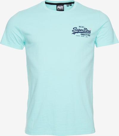 Superdry Shirt in de kleur Turquoise: Vooraanzicht