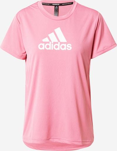 rózsaszín / fehér ADIDAS PERFORMANCE Funkcionális felső, Termék nézet
