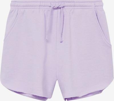 MANGO TEEN COLLECTION Панталон в пастелнолилаво, Преглед на продукта