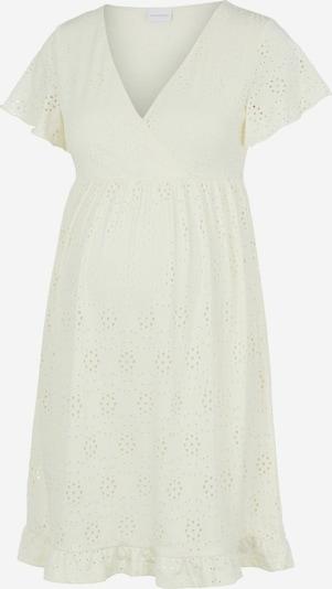 MAMALICIOUS Robe 'Denise' en blanc, Vue avec produit