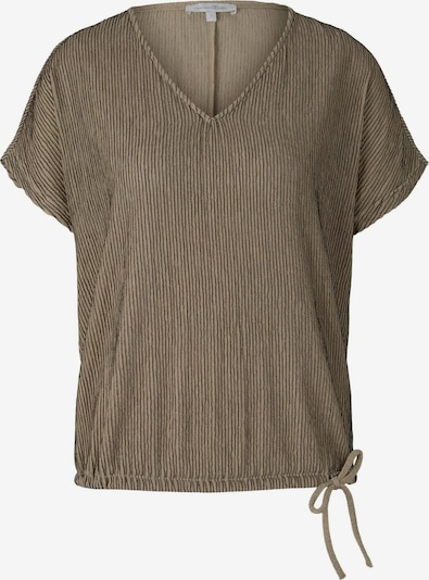 TOM TAILOR DENIM Shirt in dunkelbeige, Produktansicht