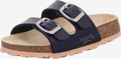 SUPERFIT Pantolette in navy, Produktansicht
