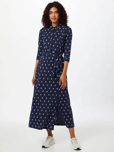 Rochie tip bluză 'ROMESHKA' Thought pe bleumarin / alb, Vizualizare model