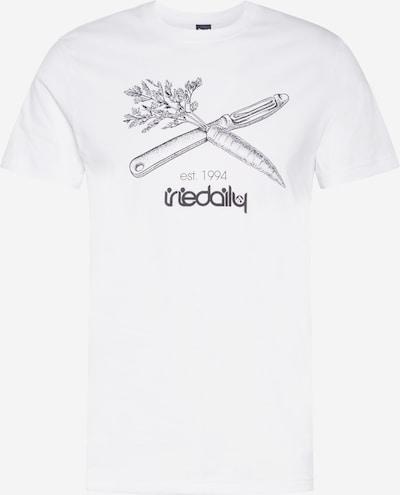 Iriedaily Shirt 'Vegan Flag' in anthrazit / weiß, Produktansicht