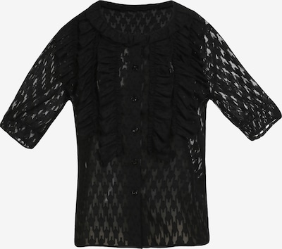 myMo ROCKS Blouse in de kleur Zwart, Productweergave