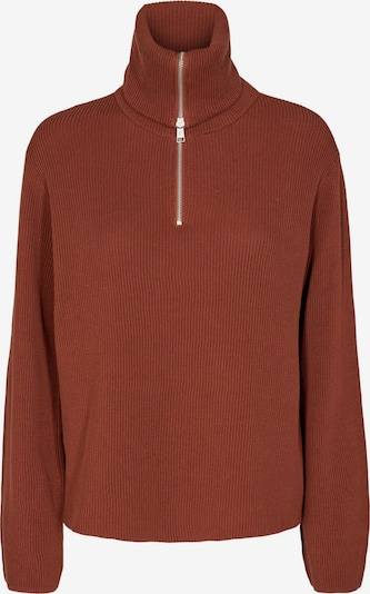 minimum Pullover 'Fima' in dunkelrot, Produktansicht